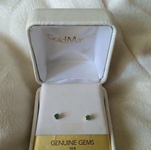 10k gold/gem earings